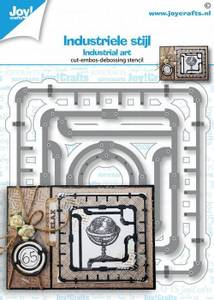 Bilde av Joy Crafts - 6002-1458 - Die - Industrial Art - Frame