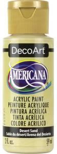Bilde av Americana Acrylic Paint - Desert Sand - Opaque 2oz