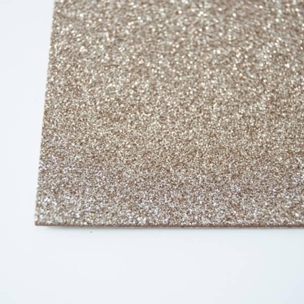 Kort & Godt - FO219 - Mosegummi Glitter - Gull