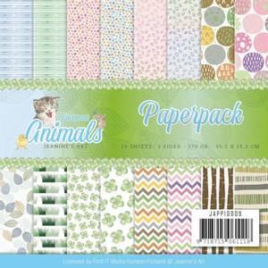 Bilde av Find It - Paperpack 6x6 JAPP10009 - Jeanine's Art - Young Animal
