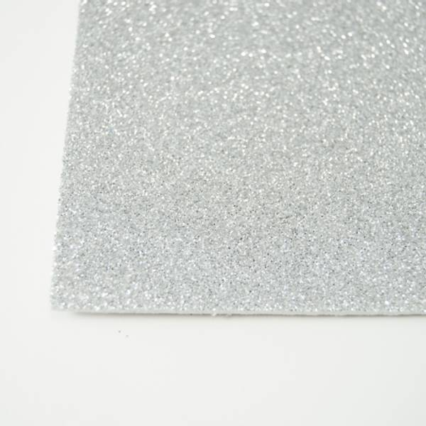 Kort & Godt - FO217 - Mosegummi Glitter - Sølv