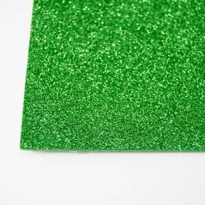 Bilde av Kort & Godt - FO215 - Mosegummi Glitter - Grønn