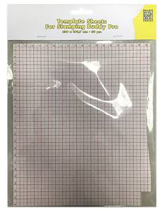 Bilde av Nellie Snellen - Template sheets 50 pcs/bloc for Stamping Buddy
