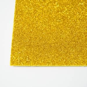 Bilde av Kort & Godt - FO213 - Mosegummi Glitter - Gul