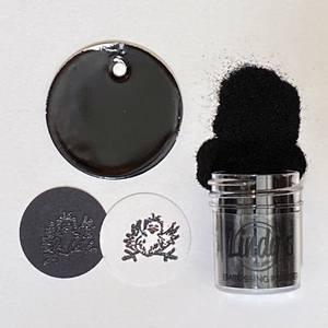 Bilde av Lindy's Stamp Gang - Embossing Powder - 121 - Boogie Down Black