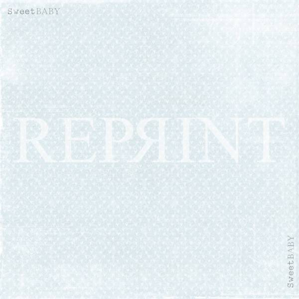 Reprint - 12x12 - RP0302 - Sweet Baby - Blue Hearts