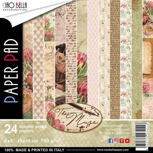 Ciao Bella - 028 - 6x6 Paper Pad - The Muse