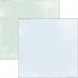 Bilde av Reprint - 12x12 - RP0304 - Sweet Baby - Blue Stripes