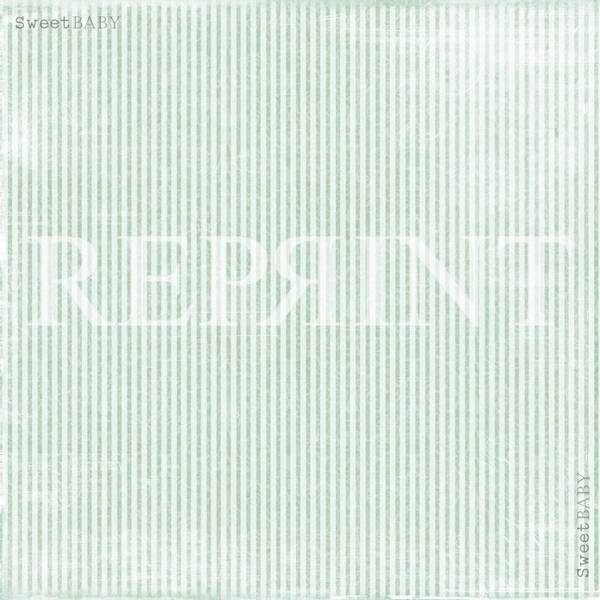 Reprint - 12x12 - RP0304 - Sweet Baby - Blue Stripes