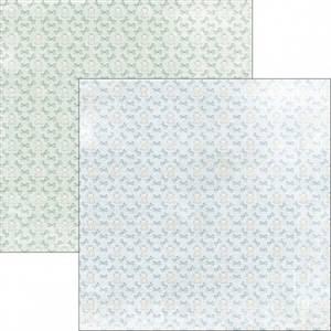 Bilde av Reprint - 12x12 - RP0305 - Sweet Baby - Blue Bow