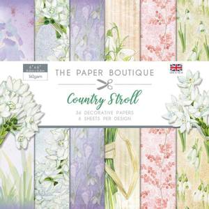 Bilde av The Paper Boutique - 6x6 Paper Pad - PB1119 - Country Stroll