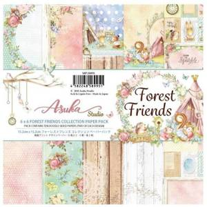 Bilde av Memory Place - Forest Friends - 6x6 Paper Pack