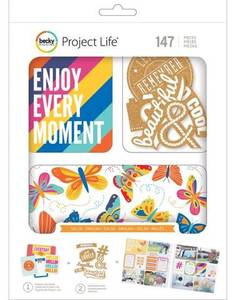 Bilde av Project Life - Kit 380595 - English Salsa - w/cork embellishment