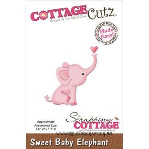 Bilde av CottageCutz - MINI163 - Sweet Baby Elephant