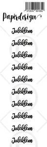 Bilde av Papirdesign - Transparent Stickers - 1900185 - Juleklem 2