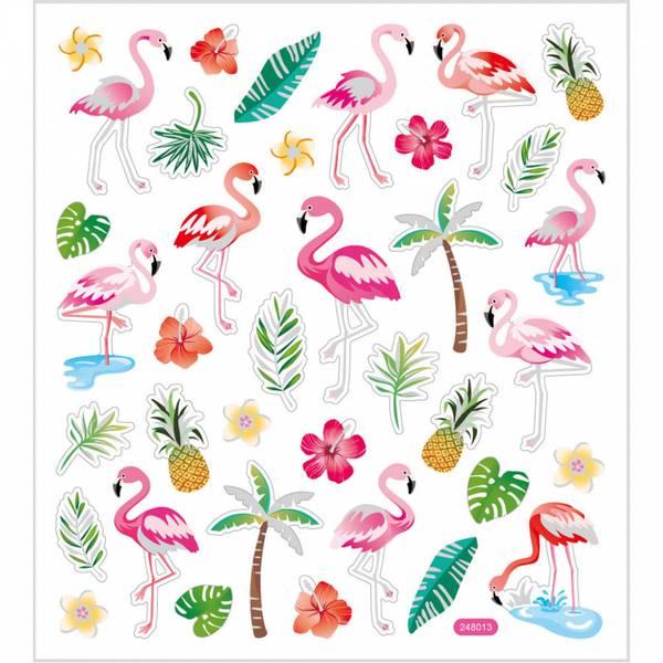 Creotime - Stickers - 29138 - Flamingo
