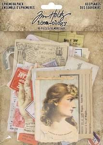 Bilde av Tim Holtz - Idea-Ology - TH93958 - Ephemera Pack Keepsakes (95pc