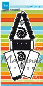 Bilde av Marianne Design - Craftables dies - CR1462 - Cake