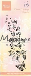 Bilde av Marianne Design - TC0870 - Clearstamp - Tiny's Butterflies