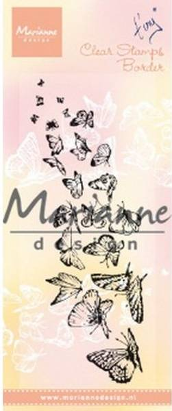 Marianne Design - TC0870 - Clearstamp - Tiny's Butterflies