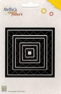 Bilde av Nellie Snellen - MFD012 - Multi Frame Dies - Square