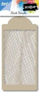 Bilde av Joy Crafts - 6002-0848 - Mask Stencils - Fishnet