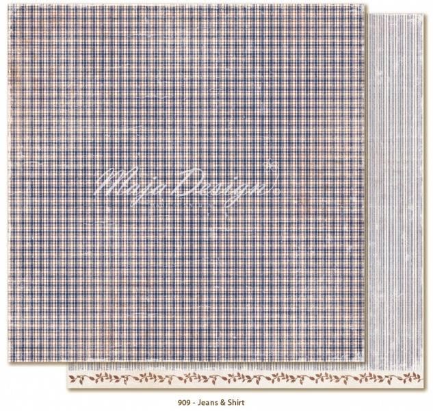 Maja Design - 909 - Denim & Friends - Jeans & shirt