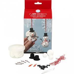 Bilde av Hobbysett - Modellering - Morsomme snømenn