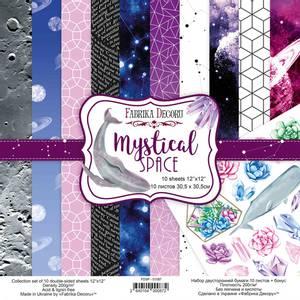 Bilde av Fabrika Decoru - 12x12 paper pack - 01087 - Mystical space