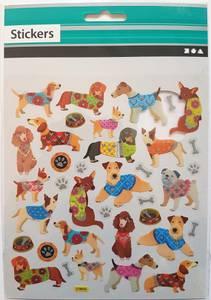 Bilde av Creotime - Funny Stickers - Dogs
