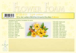 Bilde av Leane Creatief - Flower Foam - A4 - 0.8mm. - Light yellow - 1stk