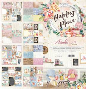 Bilde av Memory Place - Happy Place - Journaling Cards - 12x12 Paper Pack