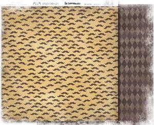 Bilde av Papirdesign PD13754  - En herremann - MED BART