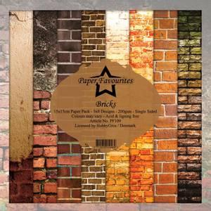 Bilde av Paper Favourites - 6x6 Paper Pad - PF109 - Bricks