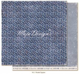 Bilde av Maja Design - 912 - Denim & Friends - Pocket square