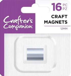 Bilde av Crafter's Companion - Craft Magnets - dia: 12mm x h: 1mm - 16stk