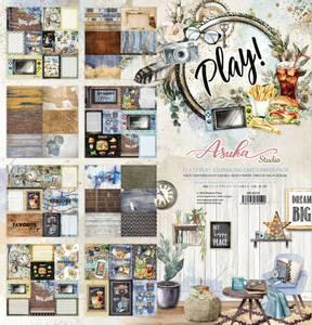 Bilde av Memory Place - Play! Journaling Cards - 12x12 Paper Pack