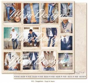 Bilde av Maja Design - 915 - Denim & Friends - Snapshots - Guys in Jeans