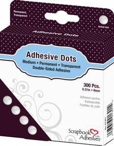 Bilde av Scrapbook Adhesives - Adhesive Glue Dots - Medium - 8mm - 300stk