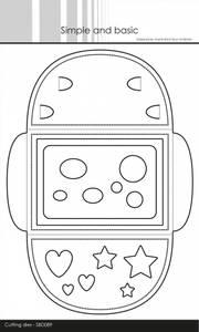 Bilde av Simple and basic - Dies - SBD089 - Envelope and Giftcard holder