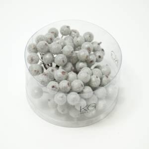 Bilde av Kort & Godt - PB202 - Pyntebær - 11mm - Frost Sølv