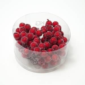 Bilde av Kort & Godt - PB206 - Pyntebær - 11mm - Frost Rød