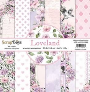 Bilde av ScrapBoys - Loveland - 6x6 Paper Pad