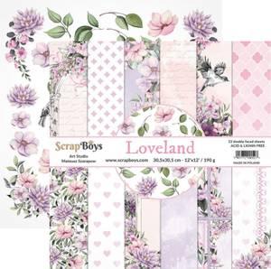 Bilde av ScrapBoys - Loveland - 12x12 Paper Pack