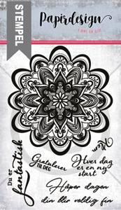 Bilde av Papirdesign - Stempel - PD1900284 - Ha en fin dag