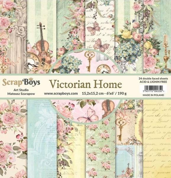 ScrapBoys - Victorian Home - 6x6 Paper Pad