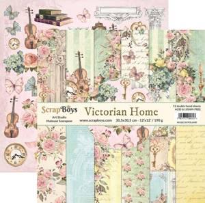 Bilde av ScrapBoys - Victorian Home - 12x12 Paper Pack