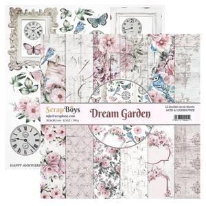 Bilde av ScrapBoys - Dream Garden - 12x12 Paper Pack