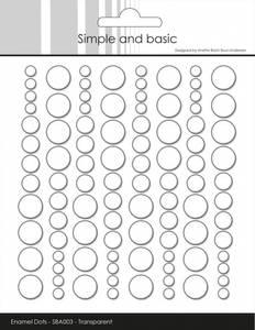 Bilde av Simple and Basic - SBA003 - Enamel Dots - Clear Water (Transpare