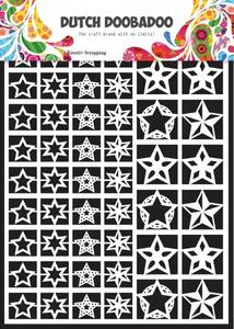 Bilde av DUTCH DOOBADOO 472.948.005 - DUTCH PAPER ART - STARS